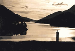 Bonnie Prince Charlie monument at the head of Loch Shiel