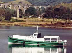 Jacobite cruises run regularly during the summer on Loch Shiel